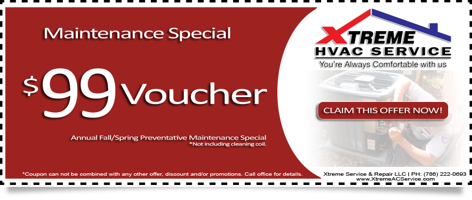 Annual Fall Spring Maintenance Special $99 Voucher