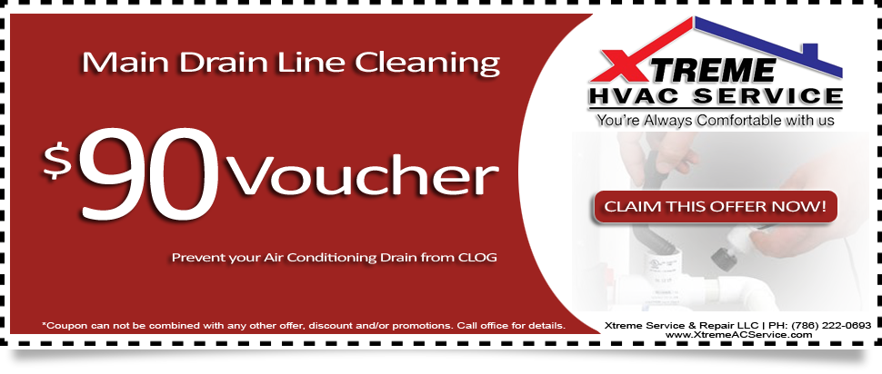 Main Drain Line Cleaning $90 Voucher